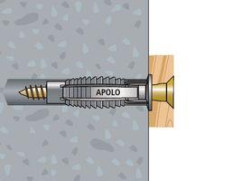 100x Apolo MEA Normalduebel  FX 5 – Bild 6