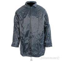 Silverline Leichte PVC-Jacke Größe: L (136 cm)