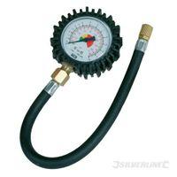 Silverline Analoges Reifendruckmessgerät 0-100 psi