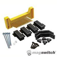 MAGSWIT Vertikaler Druckkamm-Halter 200 x 100 x 19 mm