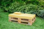 Sitzauflage Outdoor - Sunny Yellow 001
