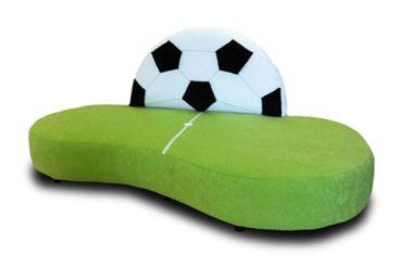 Kindersofa Fußball Gelb