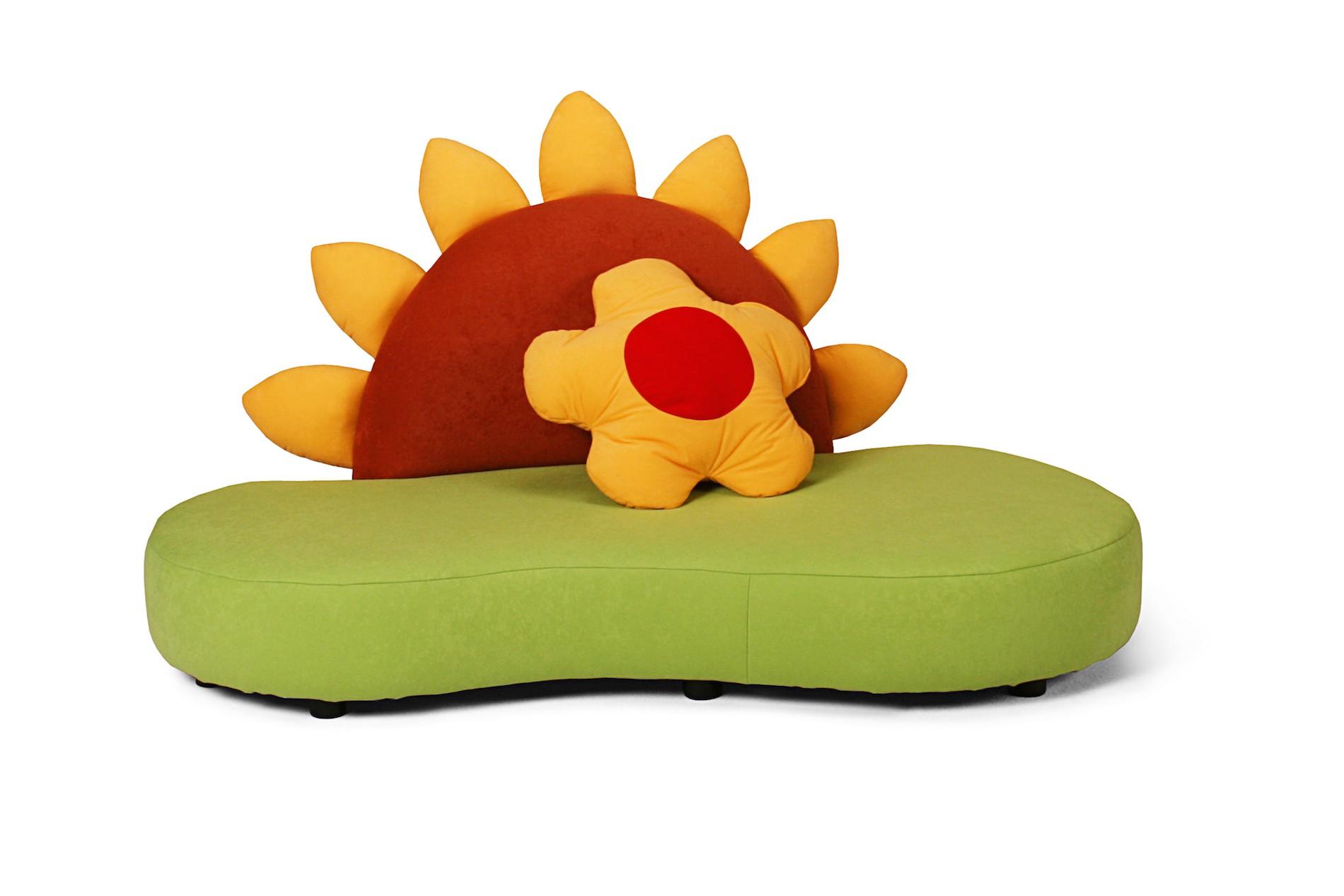 Kindersofa mit Sonnenblume KINIC Kindersofas