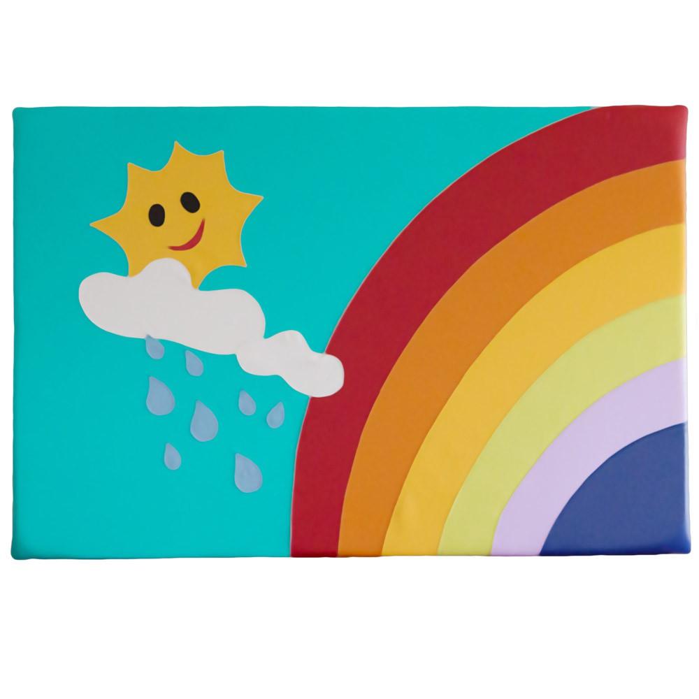Wandpolster Sonne