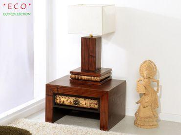Bambus Nachttischlampe Eco – Bild 3