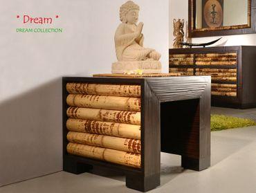 Bambus Beistelltisch DREAM