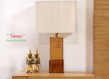 Bambus Nachttischlampe TAWAU