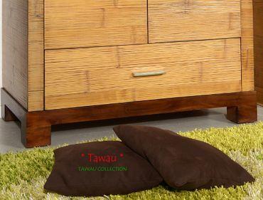 Bambus Kleiderschrank TAWAU – Bild 4