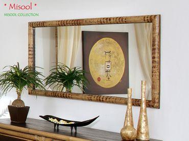 Wandspiegel Bambus Misool 150x75 cm – Bild 1