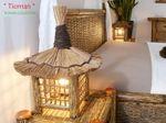 Bambus Nachttischlampe Tioman 001