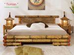 Comfort Wasserbett inkl. Bambusbett Tioman 001