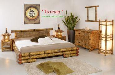 Luxus Wasserbett inkl. Bambusbett Tioman – Bild 2