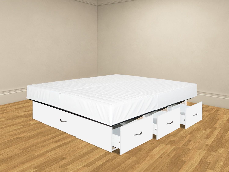 plus wasserbett mit schubladenpodest. Black Bedroom Furniture Sets. Home Design Ideas