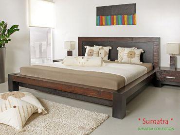 Luxus Wasserbett inkl. Bambusbett Sumatra – Bild 3