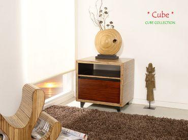 Bambus Nachtschrank CUBE – Bild 3