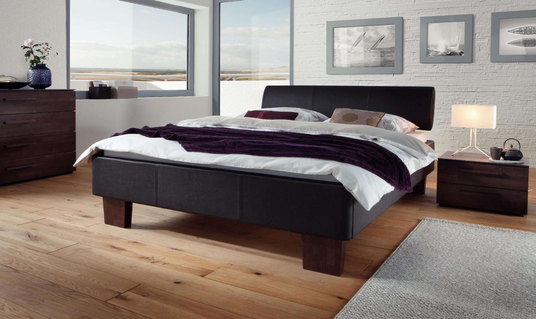 plus wasserbett mit polsterumrandung kopfteil tobus. Black Bedroom Furniture Sets. Home Design Ideas