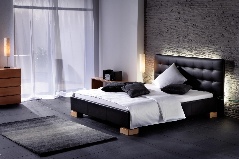 Comfort Wasserbett mit Polsterumrandung & Wandpaneele Sogno L, Tida