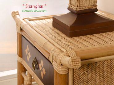 Bambus Nachttischlampe Shanghai - Asia Style – Bild 6