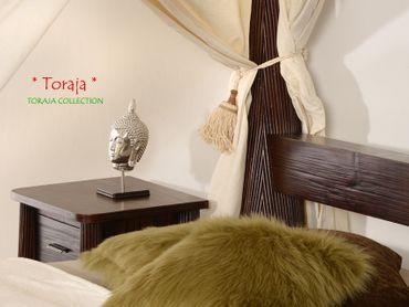 Bambus Himmelbett TORAJA, Kastanienbraun – Bild 6