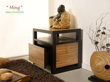 Bambus Nachtkonsole Ming – Bild 3