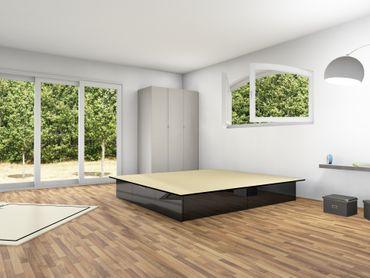 4er Schubladensockel Podest für Wasserbetten, Tiptronic – Bild 11
