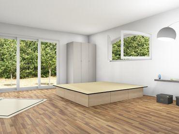 6er Schubladensockel Podest für Wasserbetten, Tiptronic – Bild 6
