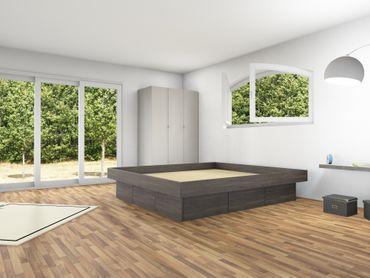 6er Schubladensockel Podest für Wasserbetten inkl. Umrandung, Tiptronic – Bild 8