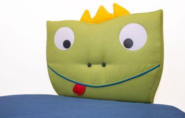 Twees Kindersofa mit Motiv Frosch Olli – Bild 3