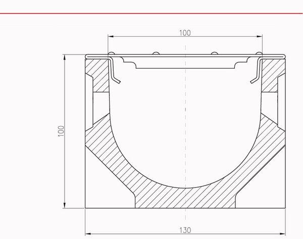ACO Self® Stegrost Stahl verzinkt 1m, Nr. 10325 Sanierungsrost Ersatzrost Rinne – Bild 2