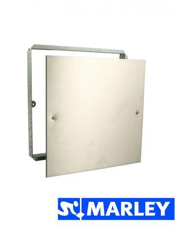 Marley  Niro-Abdeckplatte - Revisionsabdeckung aus Edelstahl  250 x 250 mm