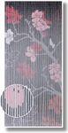 Türvorhang Bambus Vorhang Bambusvorhang Kirschblüte Raumteiler Fliegenvorhang