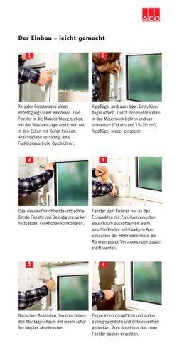 ACO 100cm Nebenraumfenster Kippfenster Einfachglas Fenster weiß Kellerfenster Größe Kippfenster: 100 x 60 cm – Bild 5