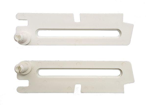 Scheren Paar kurz weiß für ACO Kippfenster Kippregler Fenster Feststeller Klemmträger
