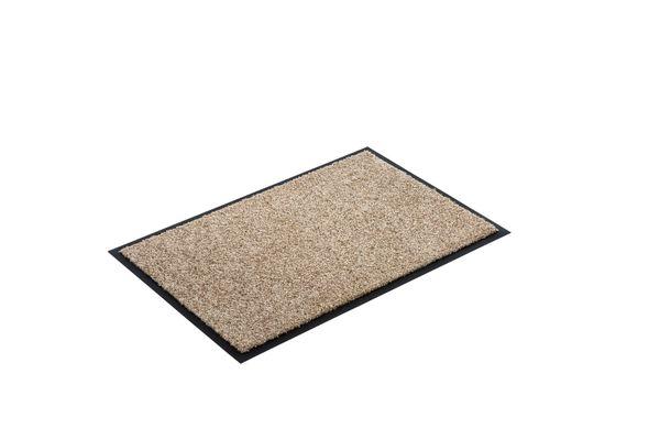 Diamant Sauberlaufmatte Farbe: sand - Fussmatte - Eingangsmatte - Türmatte - Schmutzfangmatte Größe: 600 x 400 mm – Bild 2