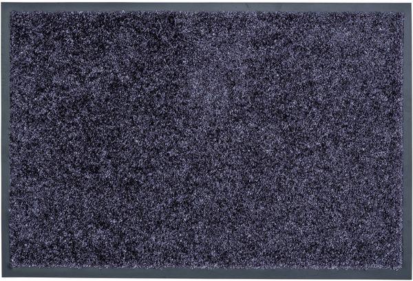 Diamant Sauberlaufmatte Farbe: dunkelgrau - Fussmatte - Eingangsmatte - Türmatte - Schmutzfangmatte Größe: 600 x 400 mm – Bild 1