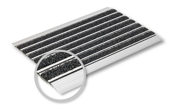 Fussabtreter Elegant Mat Ausführung: sraper anthrazit - 60x40 cm - Fussmatte - Eingangsmatte - Sauberlaufmatte – Bild 2
