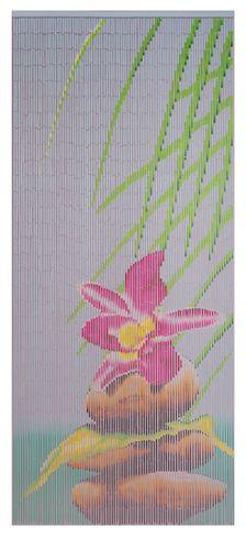 Vorhang Türvorhang Raumteiler Bambusvorhang Dekovorhang Stone Fliegenvorhang – Bild 1