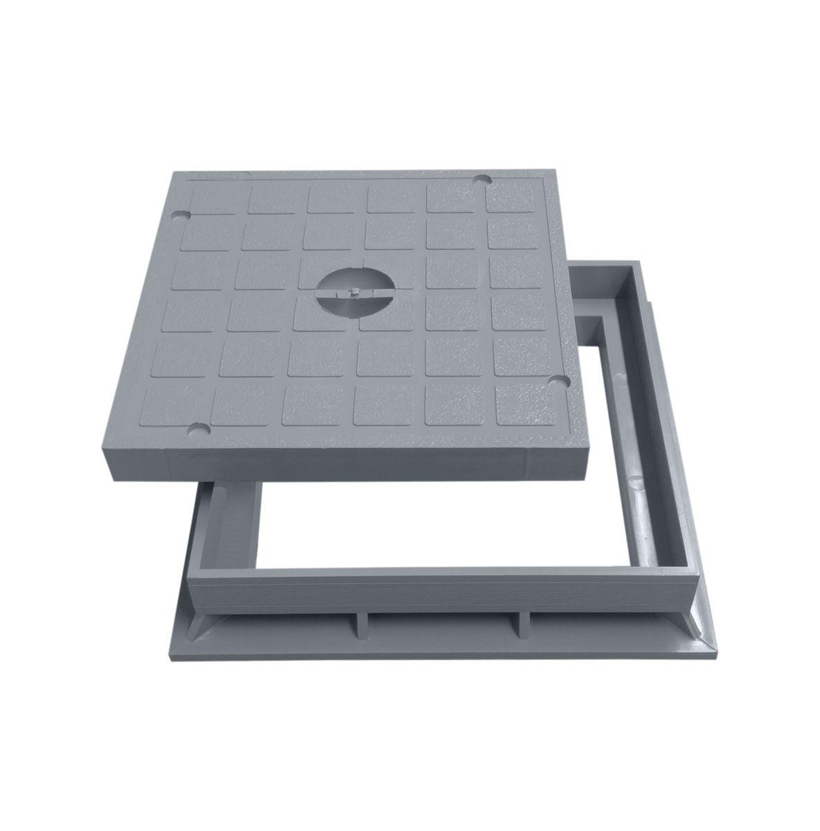 Rahmen für Schachtdeckel 200x200mm Einlaufschacht Schacht Deckel Kanaldeckel