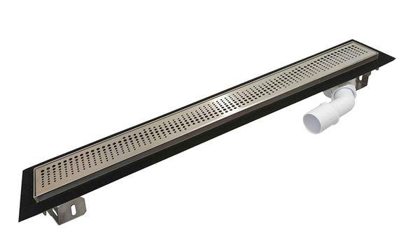 Edelstahl-Duschrinne-Pearl 1000mm Duschrinne Ablaufrinne Duschablauf Abflussrinne