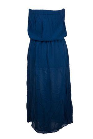 Mandala Trägerloses Seiden-Maxi-Kleid  – Bild 2