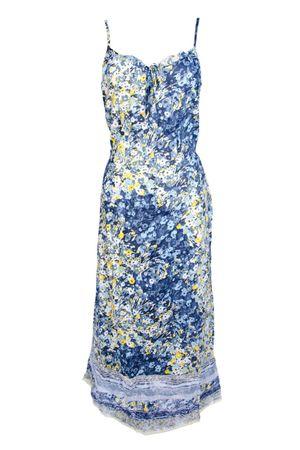 Träger Long Sandwich Sommerkleid Kleider Damen HED2IW9Y