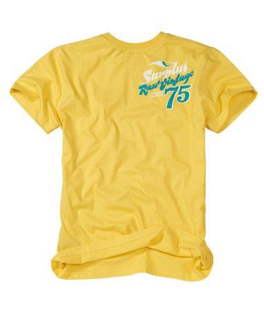 Surplus Surfer Tee T-Shirt  Gr.:S - XXL  Colour: Gelb – Bild 2