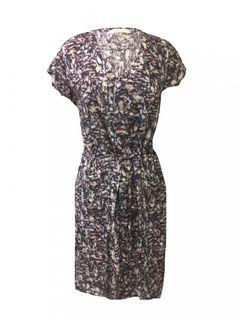 Mandala Paisley Seiden-Kleid