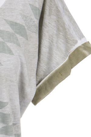 Sandwich T-Shirt Khaki – Bild 3