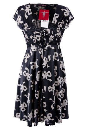 Betsey Johnson Kleid Dress Tunika Gr. UK:4 DE: 34 Black Abg. Div.2 NEU – Bild 1