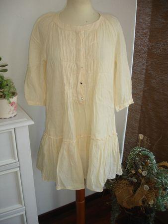 Allori Cotton By Noa Noa Gr. S/M  Wunderschöne Tunia, Bluse Sehr Verspielt NEU!  – Bild 1