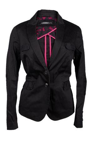 Ambiente Damen Blazer Jacke Colour: Schwarz Gr. 38 NEU Abg.Div.30 – Bild 1