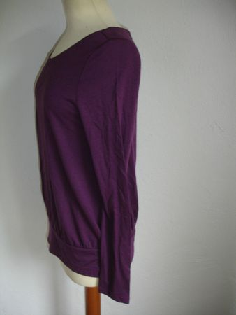Poetry Viscose By Noa Noa  T-Shirt, Long Sleeve Gr. S Farbe: Purple – Bild 2