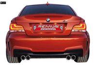 REMUS Duplex Sportauspuff BMW 1er E82 M-Coupe  M-V ab 11 3.0l - 2x84mm rechts links Bild 2