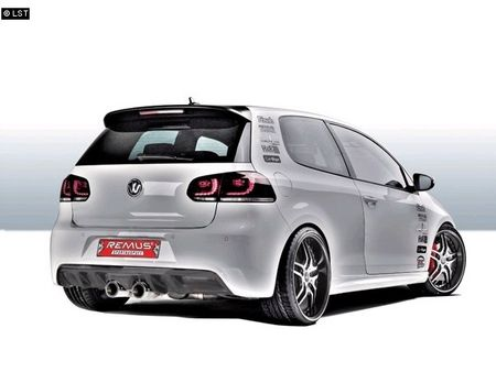 REMUS Sportauspuff VW Golf 6 ab 08 1.4l 2.0TDI - 2x98mm mittig